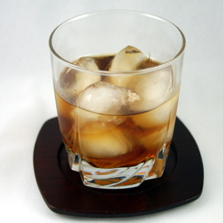 Gingered Rum Old Fashioned