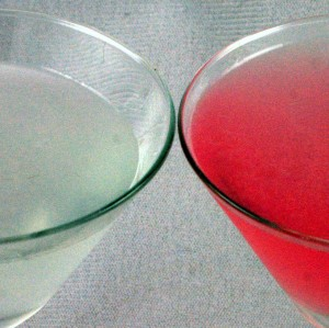 Two Aviation Cocktails