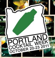 Portland Cocktail Week 2011 Logo